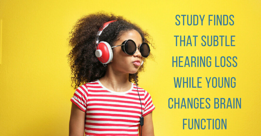 Study Finds that Subtle Hearing Loss While Young Changes Brain Function